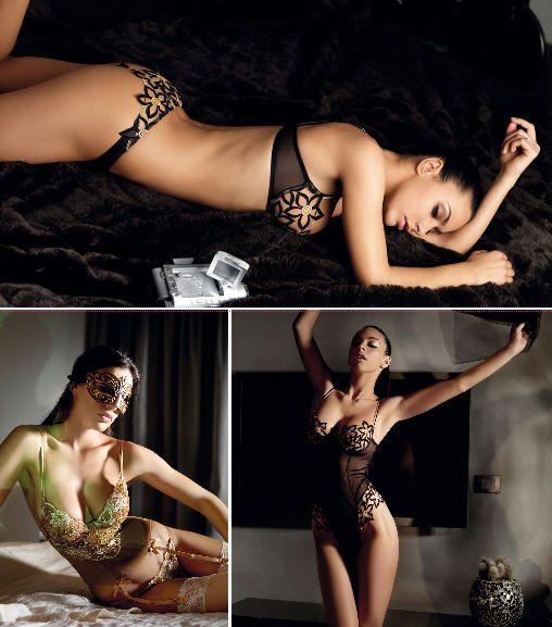 Christies, новая коллекция женского белья, сезон осень-зима 2008-2009