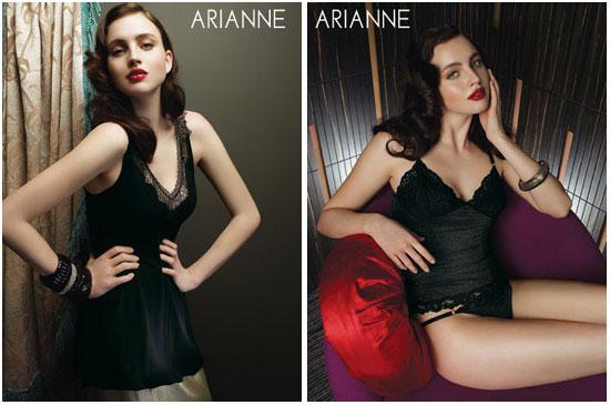 Новая коллекция женского белья от Arianne Lingerie (Канада), сезон осень 2008