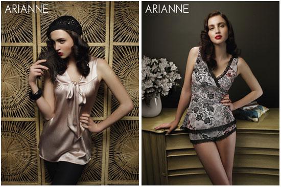 Сезон осень 2008 - коллекция женского белья от Arianne Lingerie (Канада),