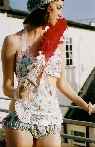 Эксклюзивное женское белье ручной работы