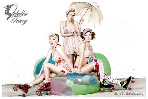 Элитное белье стилизированное под винтаж