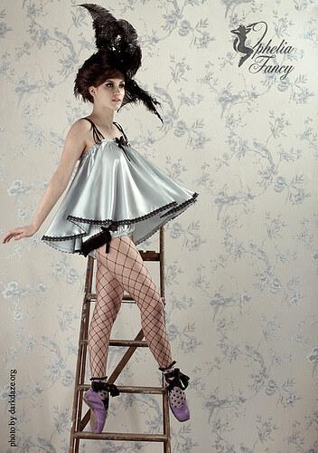 Красивое белье в стиле ретро