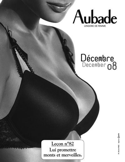 Календарь на 2008 год от Aubade