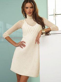 Вязаное платье от Victoria's Secret