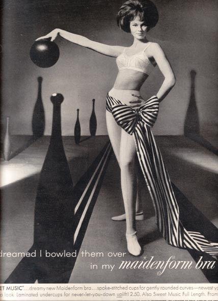 Реклама которая продолжалась несколько десятилетий - легендарная рекламная кампания женского белья от Maidenform