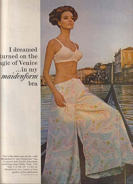 Бюстгальтер мечты - легендарная рекламная кампания женского белья от Maidenform