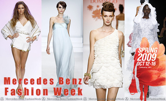 Mercedes Benz Fashion Week, платья 2009