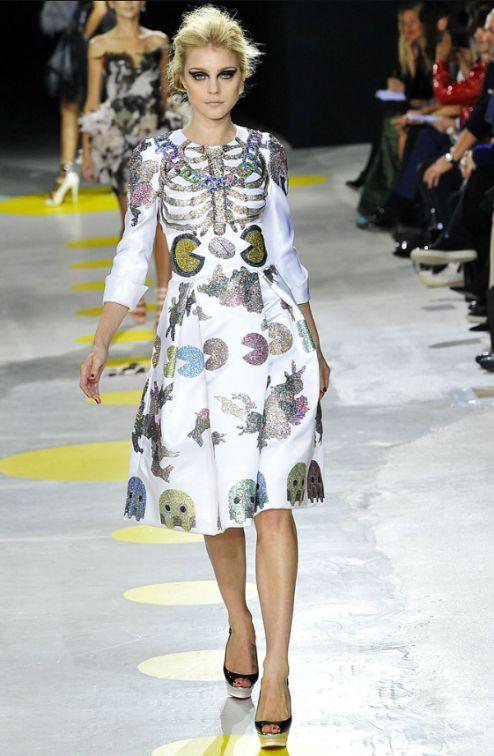 Модное платье для фанатов Пакмана