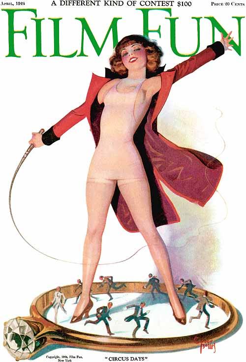 Пин-ап девушки с обложек 20-х годов