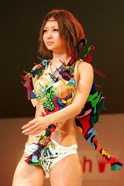 Необычное белье - конкурс молодых дизайнеров нижнего белья