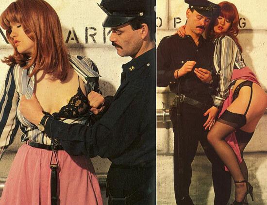 Допрос с пристрастием в сексуальных фантазиях - плохие девочки и хорошие полицейские
