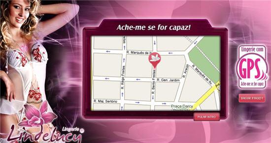 Найди меня, если сможешь - необычное женское белье с встроенным GPS передатчиком