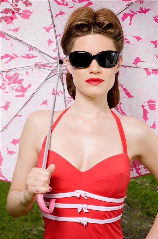 Отпуск в стиле Pin-Up - коллекция винтажных купальников и пляжной одежды