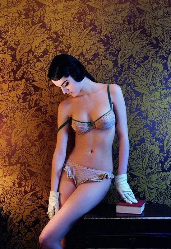 Красивое женское белье из Италии - новая коллекция от Guia La Bruna, осень-зима 2008-2009