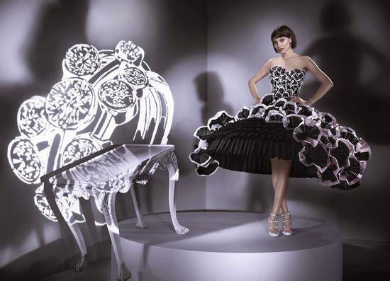 Бумажные платья для карточно-шахматной королевы, мода, одежда из бумаги...