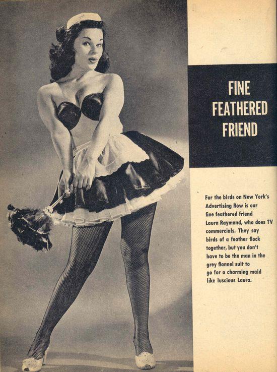Ретро-фантазии - девушки из журналов 60-х годов