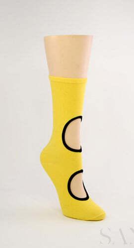 Кризисная мода - в моде дырявые носки