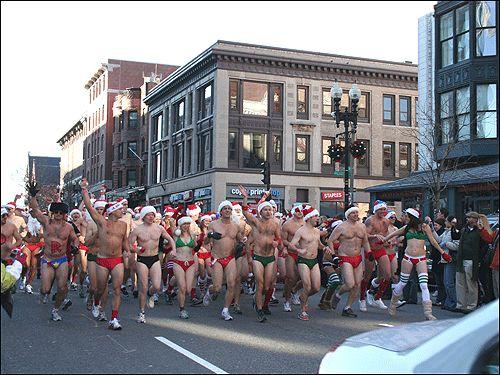 Благотворительный забег  - Беги Санта, беги!