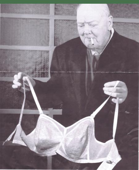 Фото-загадка: Черчиль и бюстгальтер