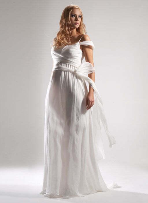 Свадебное платье для будущей мамы
