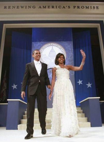 Инаугурационные наряды жен президентов.