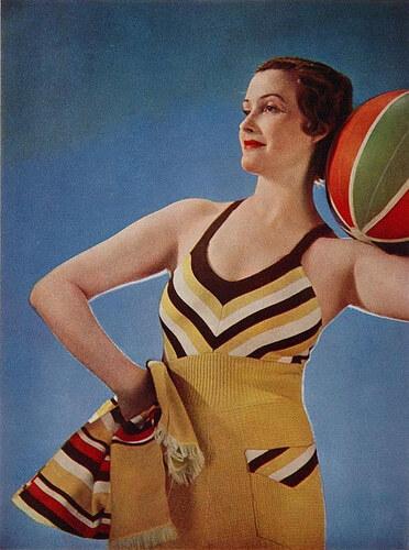 Ретро-мода - Купальники 1930