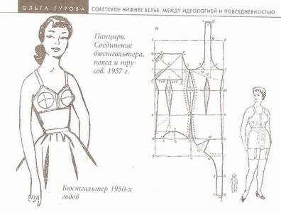 Советское нижнее бельё (1957-1970)