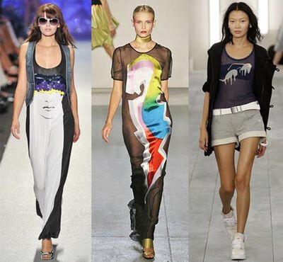 Тренды и модные тенденции весенне-летнего сезона 2009