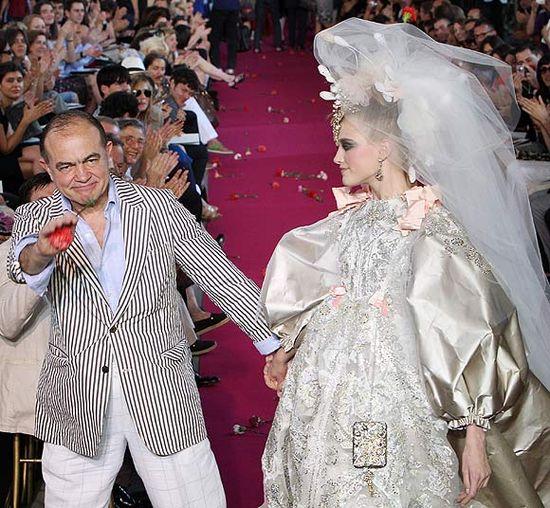 Свадебный «гламур» от Haute Couture! Свадебные платья 2009 от мировых модельеров и дизайнеров