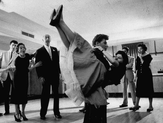 Нижнее белье как изюминка танца