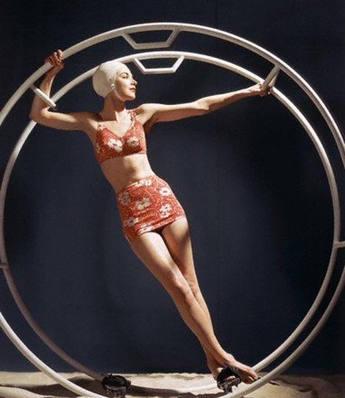 Ретро-купальники - фотографии из журнала Vogue с 1940-го по 1950-й год