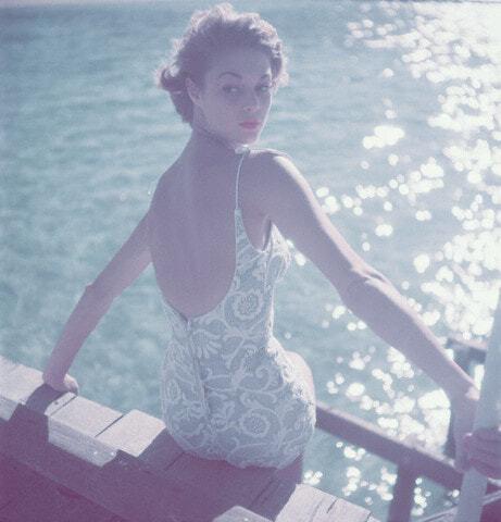 Ретро-пятница. Купальники 1950
