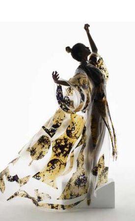 Исчезающий наряд или платье-невидимка