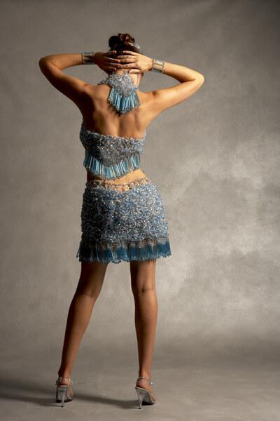 Произведения искусства из бисера и блесток
