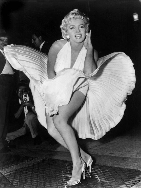 Легенды. Белое платье Монро