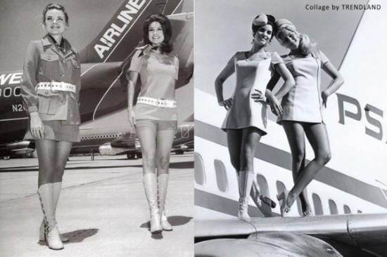 Ретро-стюардессы: привет из 50-х