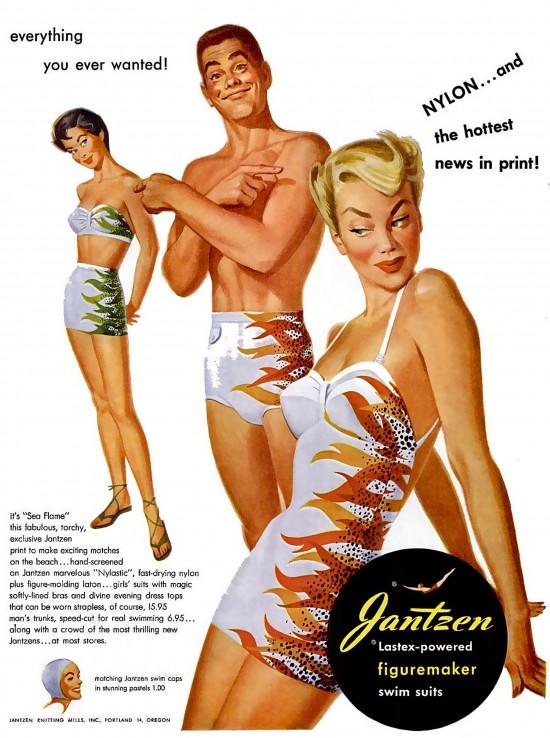 Купальники Jantzen - 1950-е
