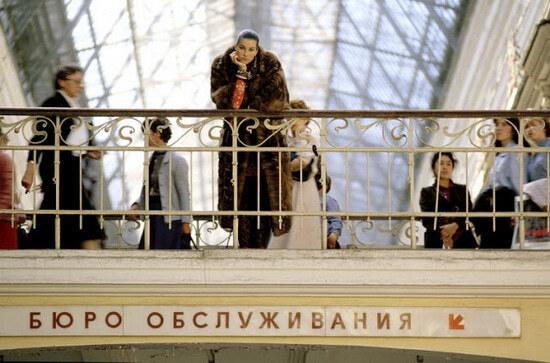 Модные съемки в Ленинграде, 1987 год